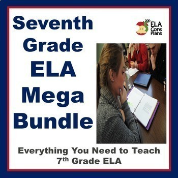 7th Grade ELA Mega Bundle! Everything You Need to Teach 7t