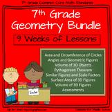 7th Grade Geometry - 9 week Comprehensive Unit of Geometry