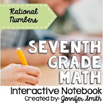 Seventh Grade Interactive Notebook Unit- Operations with R