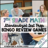 7th Grade Math Common Core Review Games