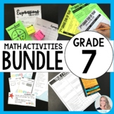 7th Grade Math Curriculum Resources Mega Bundle {Common Core}