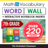 Word Wall for 7th Grade Math