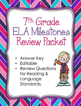 7th Grade Milestone Review Using CCGPS