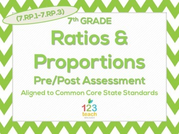 7th Grade Ratios & Proportions (7.RP.1 - 7.RP.3) Common Co