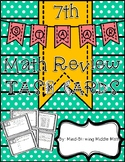 7th Grade STAAR Review TASK CARDS - 24 Readiness Standard