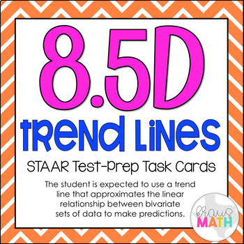 8.5D: Linear Approximations: Scatter Plots STAAR EOC Test-