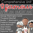 8 Famous African Americans Unit