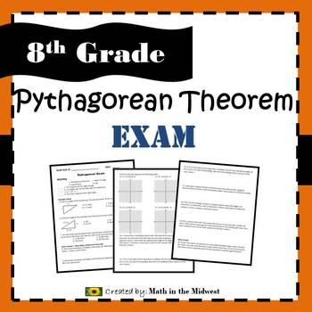 8.G.B.6, 8.G.B.7, 8.G.B.8 Pythagorean Theorem Exam