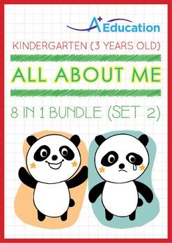 8-IN-1 BUNDLE - All About Me (Set 2) - Kindergarten, K1 (3