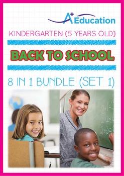 8-IN-1 BUNDLE - Back To School (Set 1) - Kindergarten, K3