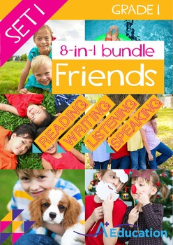8-IN-1 BUNDLE - Friends (Set 1) - Grade 1