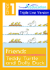 8-IN-1 BUNDLE - Friends (Set 2) Grade 1 ('Triple-Track Wri