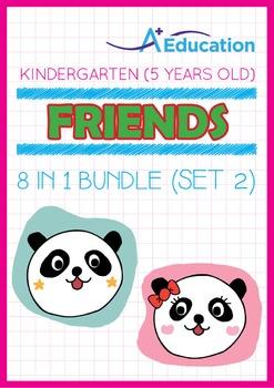 8-IN-1 BUNDLE - Friends (Set 2) - Kindergarten, K3 (5 years old)
