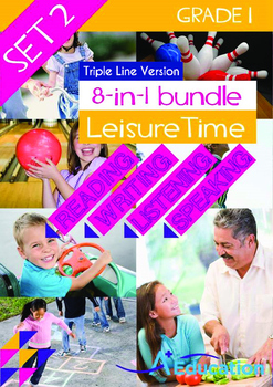 8-IN-1 BUNDLE - Leisure Time (Set 2) Grade 1 ('Triple-Trac