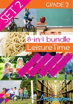 8-IN-1 BUNDLE - Leisure Time (Set 2) - Grade 2
