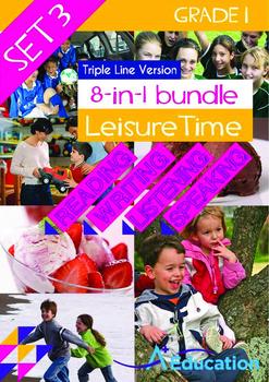8-IN-1 BUNDLE - Leisure Time (Set 3) Grade 1 ('Triple-Trac