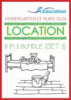 8-IN-1 BUNDLE - Location (Set 1) - Kindergarten, K1 (3 years old)