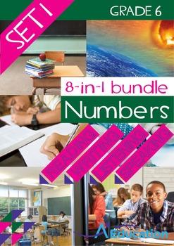 8-IN-1 BUNDLE- Numbers (Set 1) – Grade 6