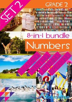 8-IN-1 BUNDLE- Numbers (Set 2) – Grade 2