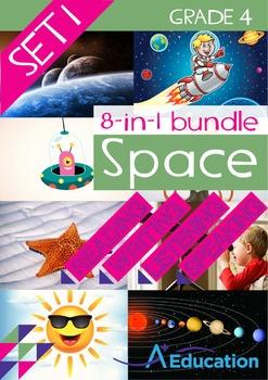8-IN-1 BUNDLE - Space (Set 1) - Grade 4