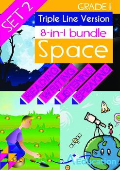 8-IN-1 BUNDLE- Space (Set 2) - Grade 1 (with 'Triple-Track