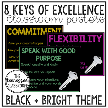 8 Keys of Excellence {Black+Brights}