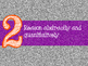 8 Mathematical Practices Orange and Purple Glitter (Common Core)