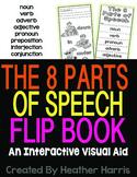 8 Parts of Speech Interactive Flip Book