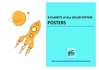 8 Planets of the Solar System POSTERS ( second set )