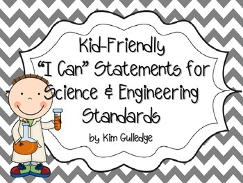 8 Science and Engineering Standards Posters - Next Generat
