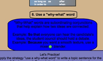 8 Strategies for Writing Topic Sentences