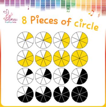 8 pieces of circles!