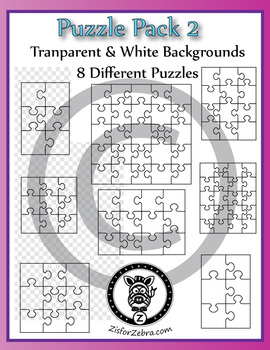 8 puzzles to make your own puzzles using clipart and images