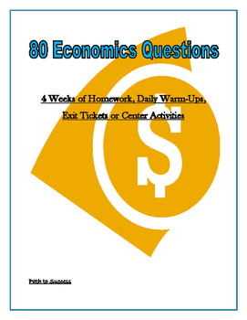 80 Economics Questions