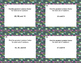 80 Math Task Cards Review  LCM's and GCF's- Earth Day Them