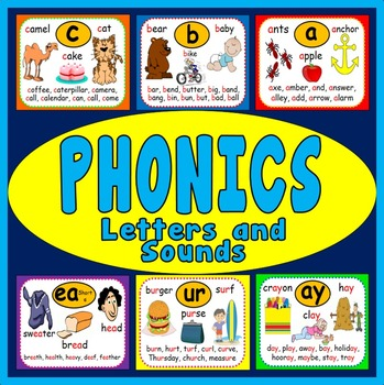88 PHONICS FLASHCARDS A4 LITERACY LETTERS AND SOUNDS LITER