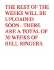 WEEK 1 8TH GRADE BELL RINGERS FOR READING & LA (FCAT PARCC
