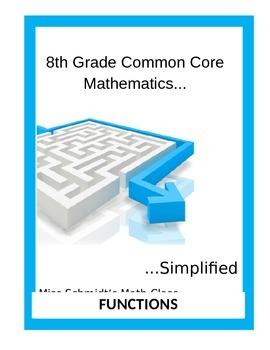 8th Grade Common Core Mathematics...Simplified