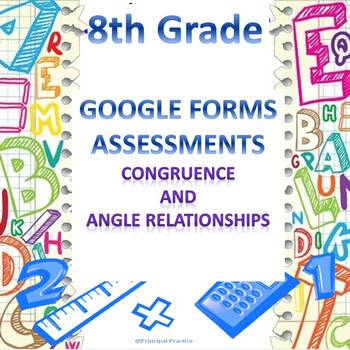 8th Grade Congruence and Angle Relationships Quick Check G