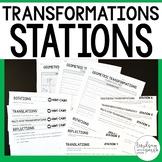 Geometric Transformations Math Stations