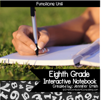 Eighth Grade Interactive Notebook Unit- Functions