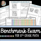 8th Grade Math Benchmark Exam : Common Core