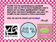 8th Grade Math Common Core Posters - Polka Dot Pattern
