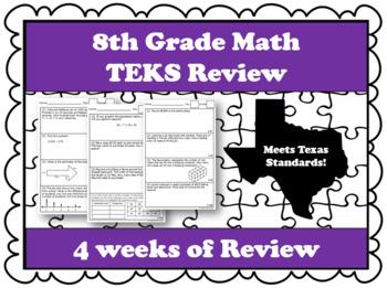 8th Grade Math TEKS Review