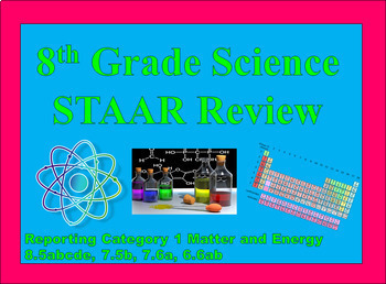 Reporting Category 1 Matter and Energy STAAR Review