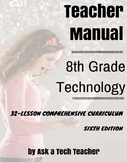 8th Grade Technology: 32-Lesson Comprehensive Curriculum