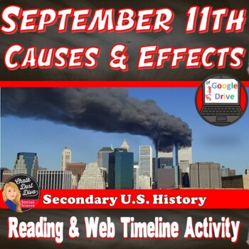 9/11 (September 11, 2001) (PPT, Reading and Interactive We