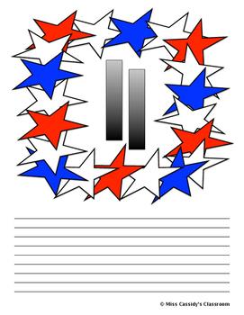 9/11 Writing Paper
