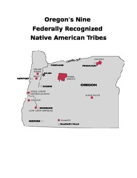 9 Federally Recognized Oregon Tribes Project Directions