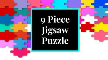 9 Piece Jigsaw Puzzle